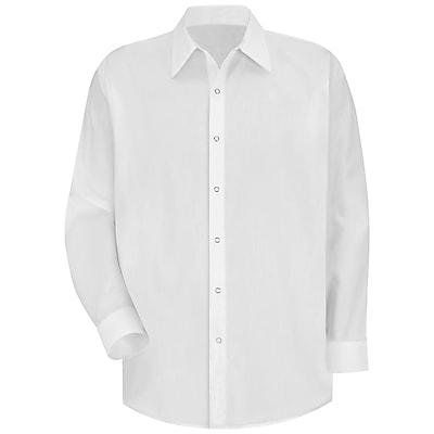 Red Kap Men's Easy Care Dress Shirt XXL x 345, White