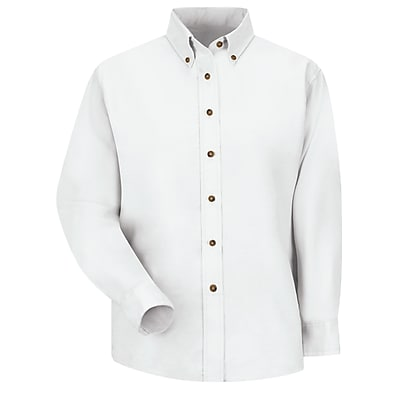 Red Kap Women's Poplin Dress Shirt RG x 20, White