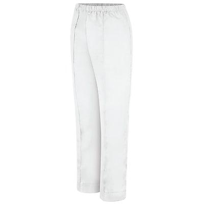 Red Kap Women's Poplin Pant 24 x 34U, White