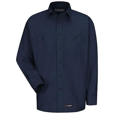 Wrangler Workwear Men's Work Shirt RG x XXL, Navy