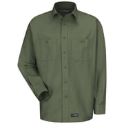 Wrangler Workwear Unisex Work Shirt RG x S, Olive green