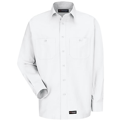 Wrangler Workwear Men's Work Shirt RG x XXL, White