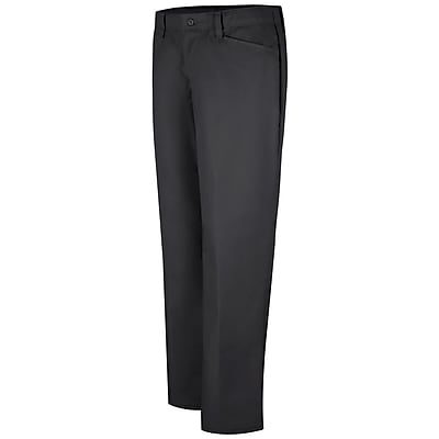 Red Kap Women's Work NMotion Pant 14 x 34U, Black