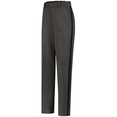 Horace Small Women's Ohio Sheriff Trouser 08R x 36U, Gray heather with black stripe