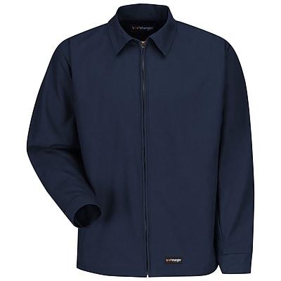 Wrangler Workwear Unisex Work Jacket LN x L, Navy