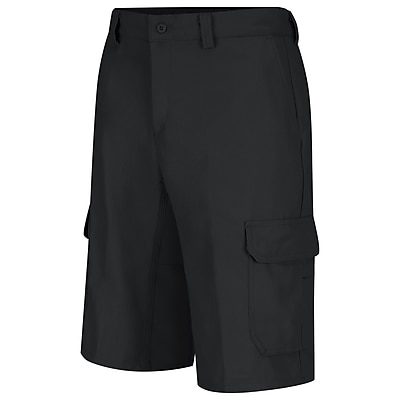 Wrangler Workwear Men's Functional Cargo Work Short 30 x 12, Black