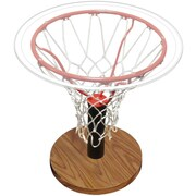 Spalding Basketball Rim End Table