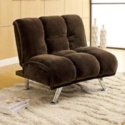 Hokku Designs Jopelli Lounge Chair; Dark Brown