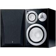Yamaha NS-6490 3-Way Acoustic Suspension Bookshelf Speakers, Black