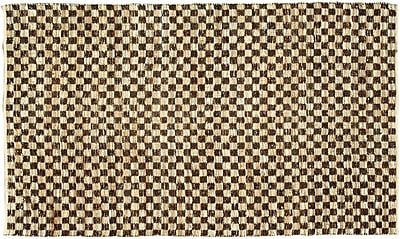 Noble House Coster Coffee Area Rug; 4' x 6'