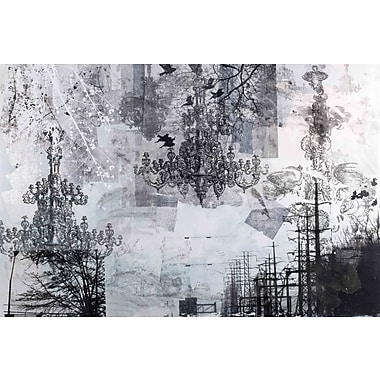 Marmont HIll 'Toile Del Uz' by Tracy Silva Barbosa Painting Print on Wrapped Canvas; 16'' H x 24'' W