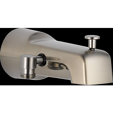 Delta Universal Showering Components Wall Mount Tub Spout; Brilliance Stainless