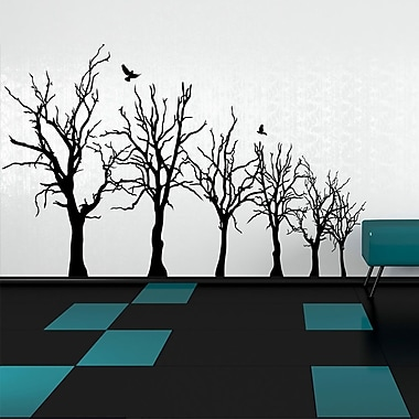 Style and Apply Forest Wall Decal; Sage