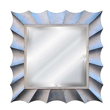 Hickory Manor House Square Sunburst Mirror; Shimmer