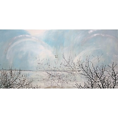 Marmont HIll 'Twin Lake Effect' by Tracy Silva Barbosa Painting Print on Wrapped Canvas