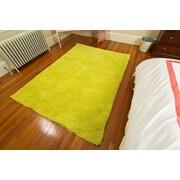 Mats Inc. Super Soft Yellow Area Rug