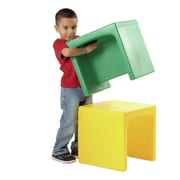 Constructive Playthings Cube Kids Novelty Chair (Set of 4)