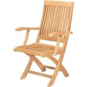 HiTeak Furniture Folding Patio Dining Chair