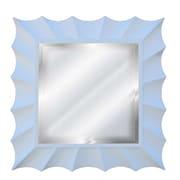 Hickory Manor House Square Sunburst Mirror; Bright White