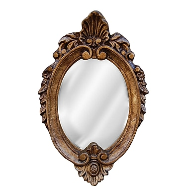 Hickory Manor House Shell Top Mirror