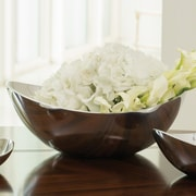 Global Views Spry Decorative Bowl; Aluminum