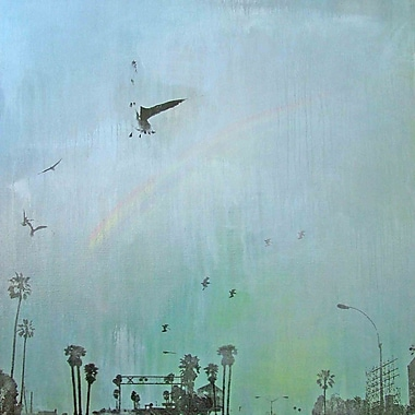 Marmont HIll 'End Of The Rainbow' by Tracy Silva Barbosa Painting Print on Wrapped Canvas