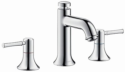 Hansgrohe Talis C Two Handles Widespread Standard Bathroom Faucet; Brushed Nickel