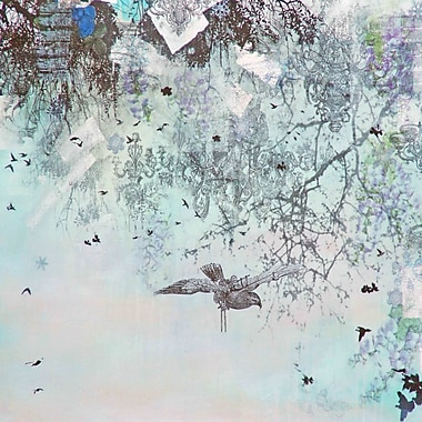 Marmont HIll 'Winter' by Tracy Silva Barbosa Painting Print on Wrapped Canvas; 24'' H x 24'' W