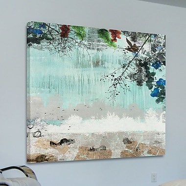 Marmont HIll 'Lost River' by Tracy Silva Barbosa Painting Print on Wrapped Canvas; 40'' H x 40'' W