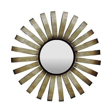 Gallerie Decor Geo Starburst Wall Mirror