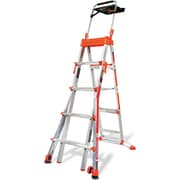 Little Giant Ladder 5.05 ft Aluminum Step Ladder w/ 300 lb. Load Capacity