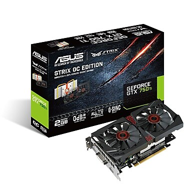 Asus STRIX-GTX750TI-OC-2GD5 Gaming Graphic Card