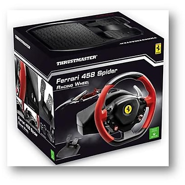 thrustmaster racing wheel ferrari 458 spider edition for. Black Bedroom Furniture Sets. Home Design Ideas