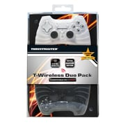 Thrustmaster T-Wireless Gamepad Duo Pack for PS3/PC, Black/White, English