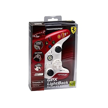 Thrustmaster GPX Gamepad Lightback Ferrari F1 Edition for Xbox 360/PC, English