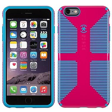 Speck – Étui CandyShell Grip pour iPhone 6 Plus, rose à lèvres/geai bleu
