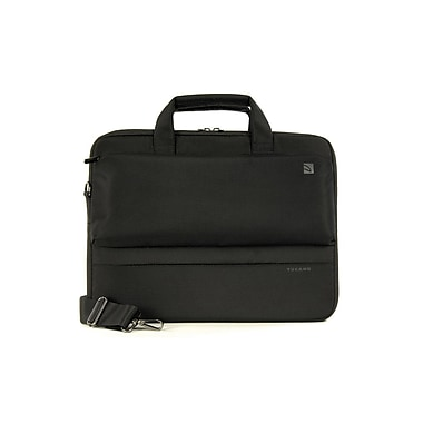 Tucano – Sac mince Dritta BDR1314 pour MacBook Pro de 15 po et ordinateur bloc-notes de 13 ou 14 po, noir