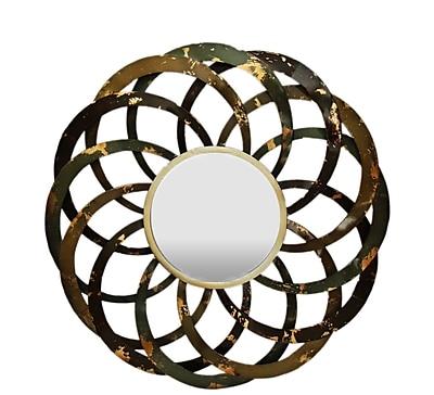Gallerie Decor Geo Circles Wall Mirror