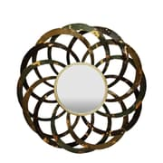 Gallerie Decor Geo Circles Wall Mirror