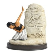 AfricanAmericanExpressions She Who Kneels Figurine