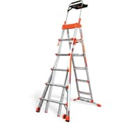 Little Giant Ladder 6.08 ft Aluminum Step Ladder w/ 300 lb. Load Capacity