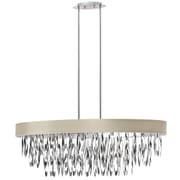 Radionic Hi Tech Allegro 8-Light Drum Pendant; Pebble