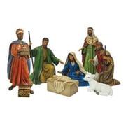 AfricanAmericanExpressions Nativity 7 Piece Nativity Set