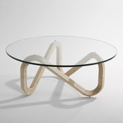 Kubikoff Libra Coffee Table; Natural