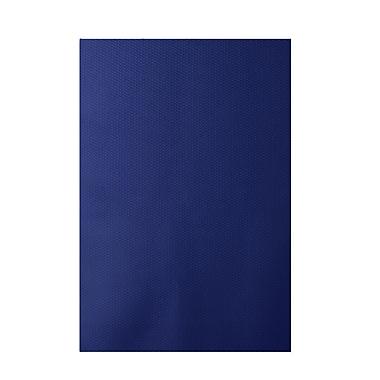 E By Design Chevron Royal Blue Indoor/Outdoor Area Rug; 3' x 5'