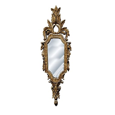 Hickory Manor House Leaf Top Mirror