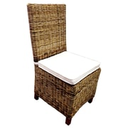 D-Art Collection Patio Dining Chair w/ Cushion