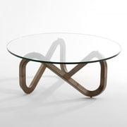 Kubikoff Libra Coffee Table; Walnut