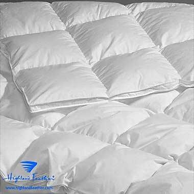 Highland Feather La Rochelle Heavyweight Down Comforter; Full