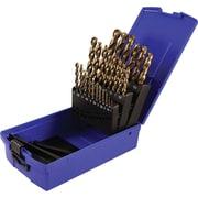 Gray Tools 25 Piece Metric Colbalt, High-Speed Steel Drill Bit Set, 1mm-13mm